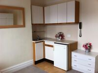 Large Bedsit / room in parkstone, fully furnished, working household, clean, Available now