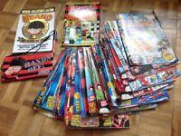 Beano comics x 43 plus extras