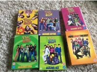 Big Bang theory and 70s show dvds