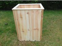 For sale - Two wooden planters