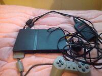 PlayStation 2 Black Slim