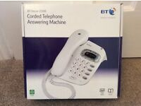 BT Decor 1500 Corded Telephone Answering Machine