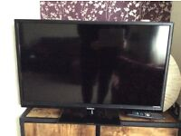 Good mans 32 inch TVs with built in DVD