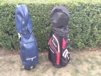 "Ben Hogan 9"" Pro Bag 6 Divider and Fazer M450 Bag 14 divider"