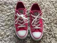 CONVERSE -Size 3 Pink All Star (LIKE NEW)