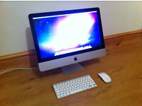 "Apple Imac 21.5"" - Great Condition - Comes with official Apple Wireless Mouse and Keyboard"