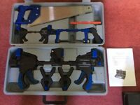 Saw and clamp set