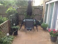 Home swap 2 bed ground floor with big patio