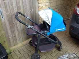 Uppababy cruz pushchair