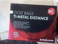 Golf balls and sundries