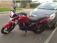 Suzuki Slingshot 125cc Motorcycle MoT 08/2017