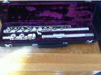 Buffet Crampon Flute - Used, in good condition. Free collection of sheet music with this purchase.
