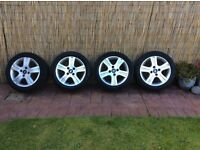 Ford fiesta 15 inch alloys and tyres 4 stud