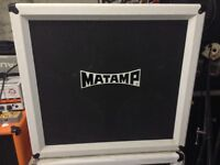 Matamp 4x12 speaker cabinet and flight case