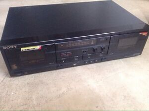 Sony dual cassette player/recorder