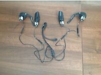 Shimano Dura Ace 7970 DI2 TT brake levers and bar end shifters 10 speed