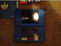 Blue Nintendo Dsi XL