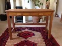 Old school desk sowing table