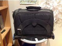 Large laptop bag on wheels