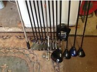 MacGregor Golf clubs and bag for sale