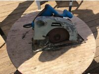 Power base circular saw