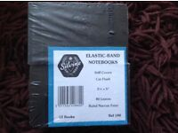 Police style Black pocket note books
