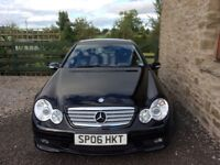 Mercedes C Class in good condition for the year.