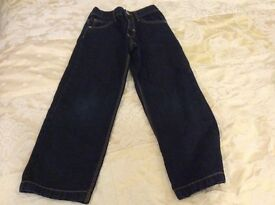 Boys age 8 baggy fit adjustable waist jeans from M&S collect from Sprowston or meet at Riverside