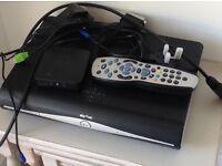 Sky + plus HD box, on demand box & remote
