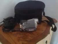 Canon camcorder, MV600 and Cannon carry case