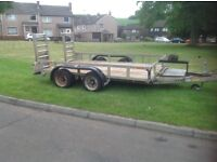 Ifor Williams GP106 plant trailer