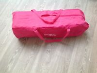 Pink - Red Kite Travel Cot
