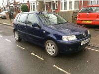 5 door Polo driving very nicely MOT for 12 Months.