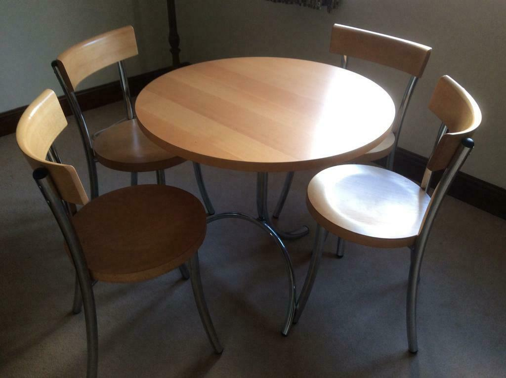 john lewis kitchen table and 4 chairs light wood veneer