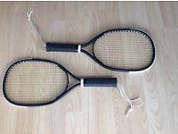 Vintage Leach Racquetball Racquets