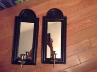 WOODEN BLACK MIRRORS FOR SALE