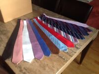 13 Ties (7 Silk) very clean ready to wear