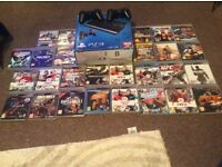 Ps3 slim boxed 2 controls 27 games vgc ,,,,wat have you,????????