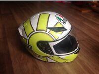 Agv Rossi helmet used