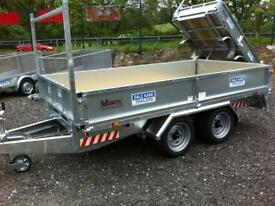 Trailer flatbed 10x5,6 Dale kane twin axle trailer