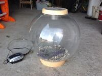 Bi Orb 30 litre fish globe with stand and accessories