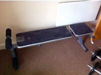 WEIGHTS BENCH-INCLINE AND DECLINE-ADJUSTABLE