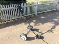 Golf buggy - hardly used. Reduced price.