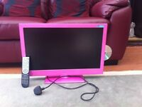 "BUSH 24"" LED TV dvd Combi, Freeview, HDMI complete with manual"