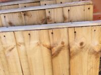3 x Fence Panels - 6 x3