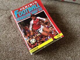 Panini's football yearbook