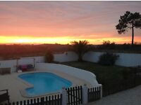 Portugal detached villa on the Silver Coast 5 beds 5 bath ,Pool,Garden,Garage and beautiful views