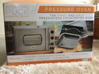Pressure oven , Wolfgang Puck.