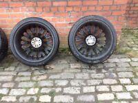 Range Rover Cosworth wheels