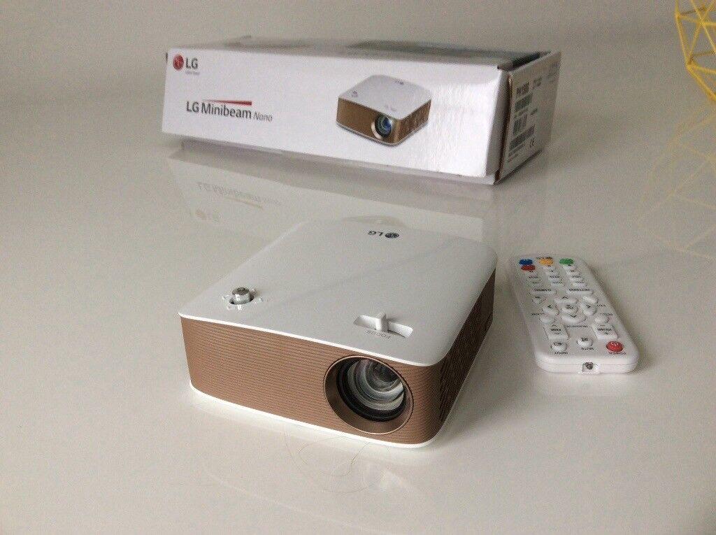 LG Portable AEK LG Minibeam Nano Projector PH150G